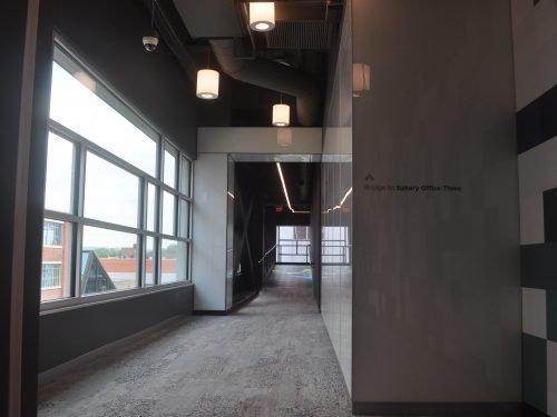 led floor installation
