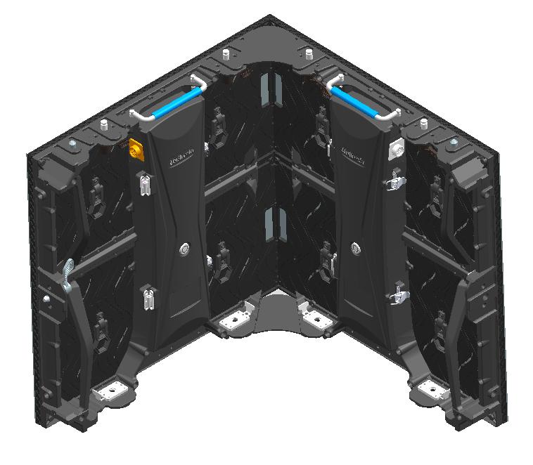 UGM rental led virtual production vertical splice back