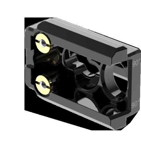 UPAD4 virtual production rental led 90° angle connectors
