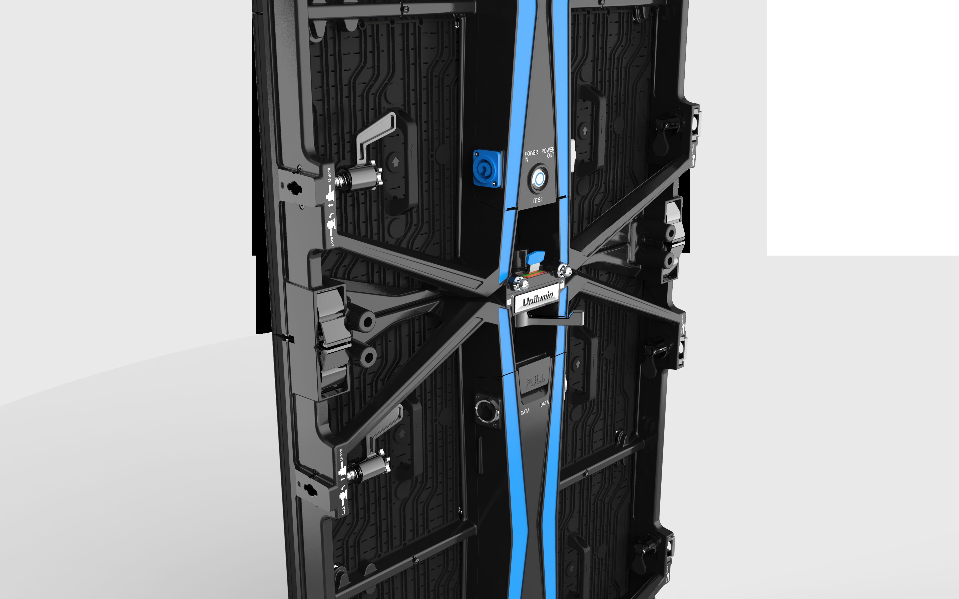 UPAD4 virtual production rental led detail