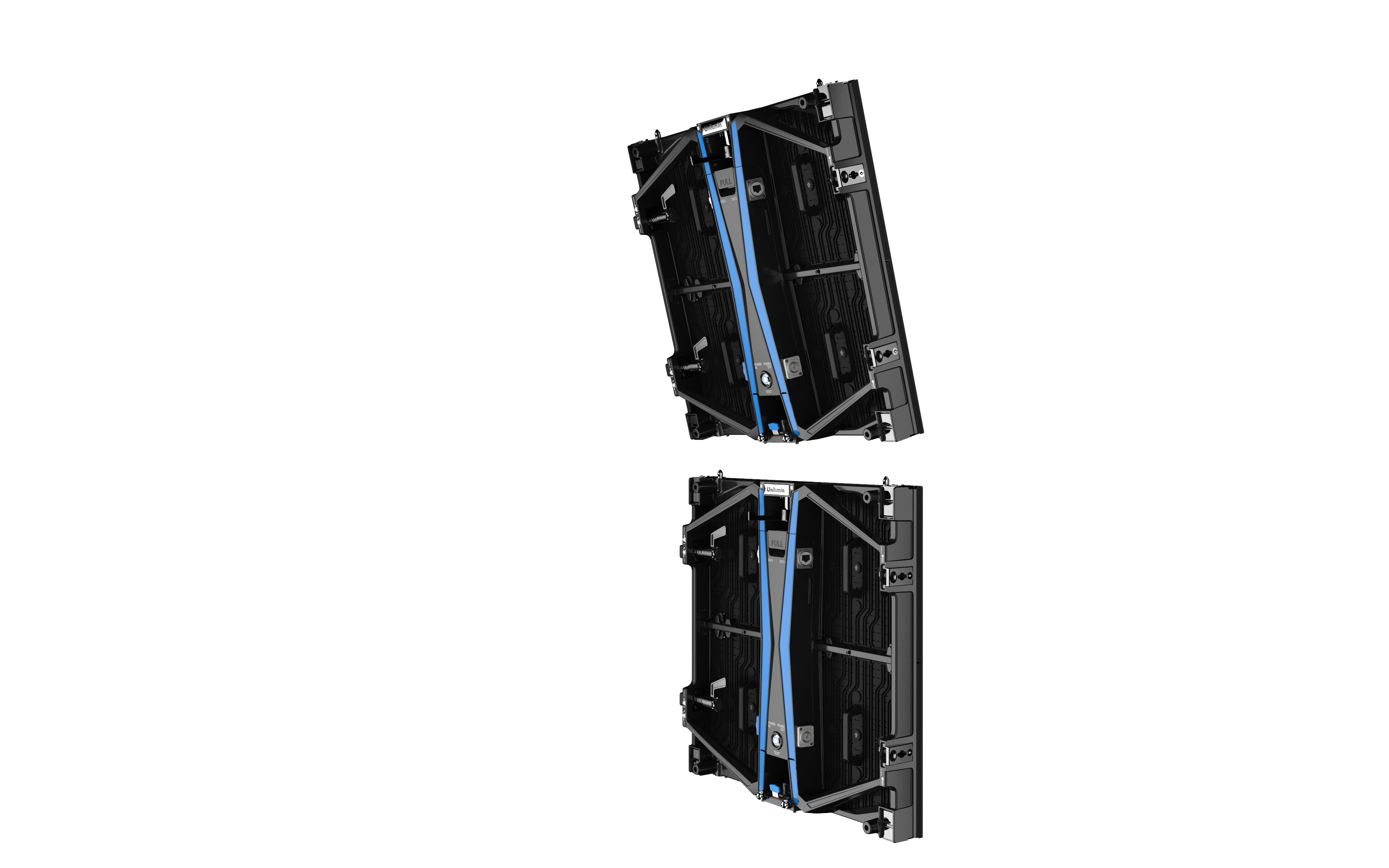 UPAD4 virtual production rental led vertical splice