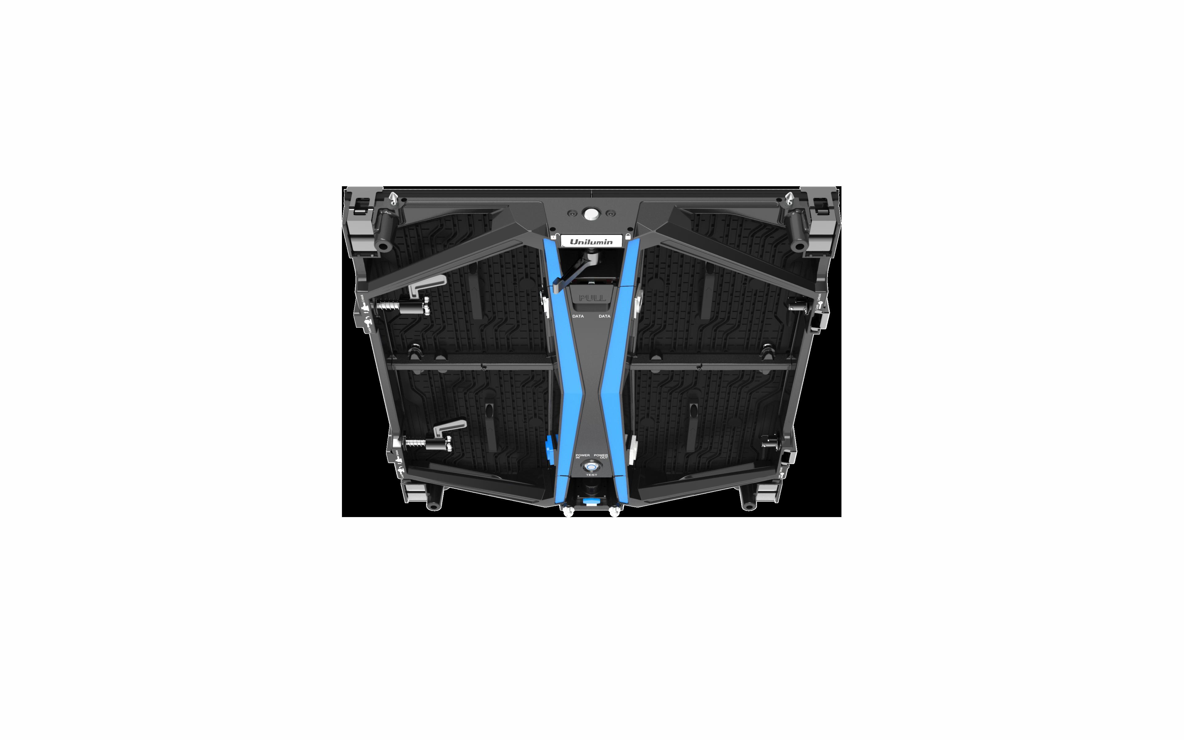 UPAD4 virtual production rental led view top