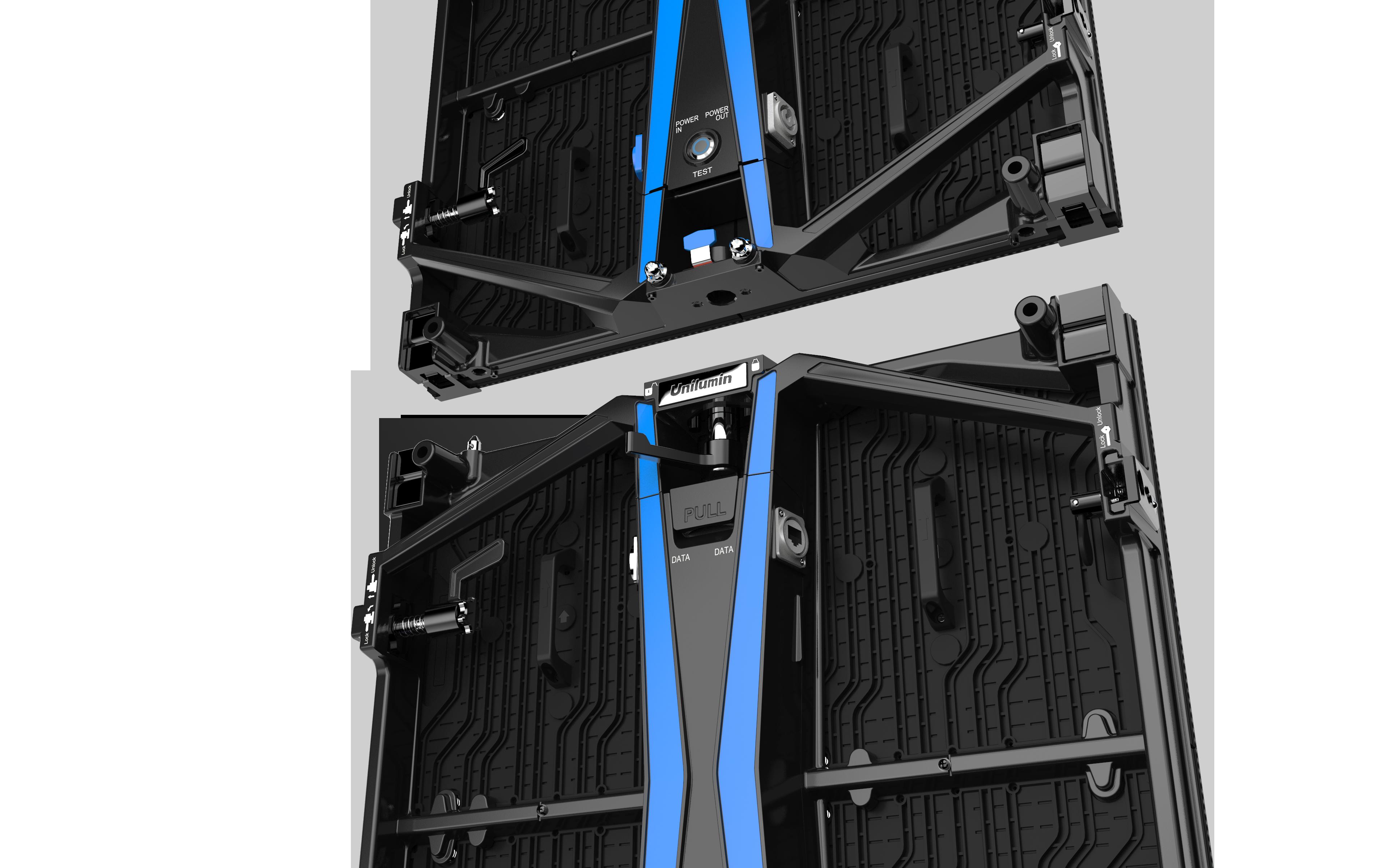 UPAD4 virtual production rental led zoom splice