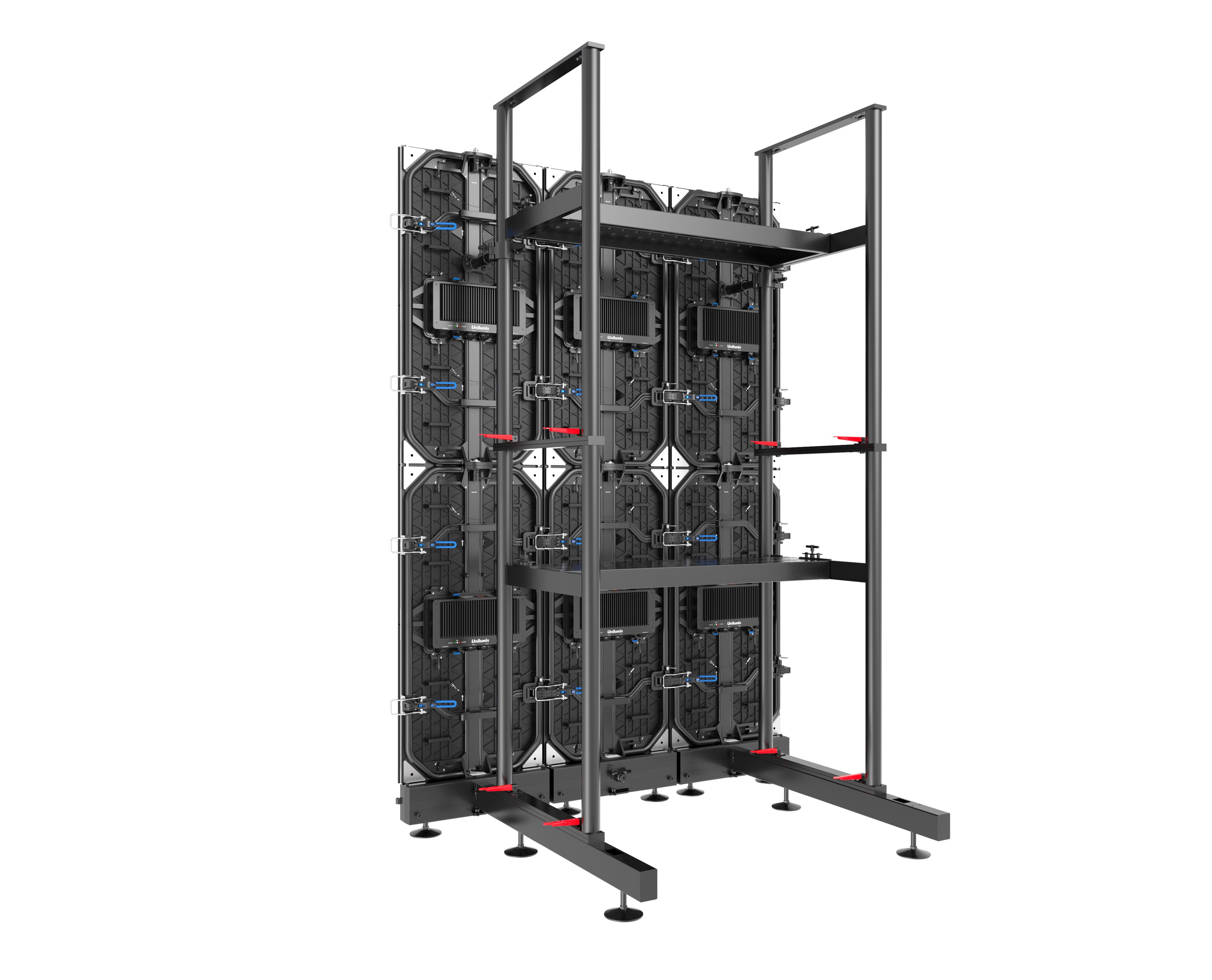 UTILE 3 rental led virtual production install