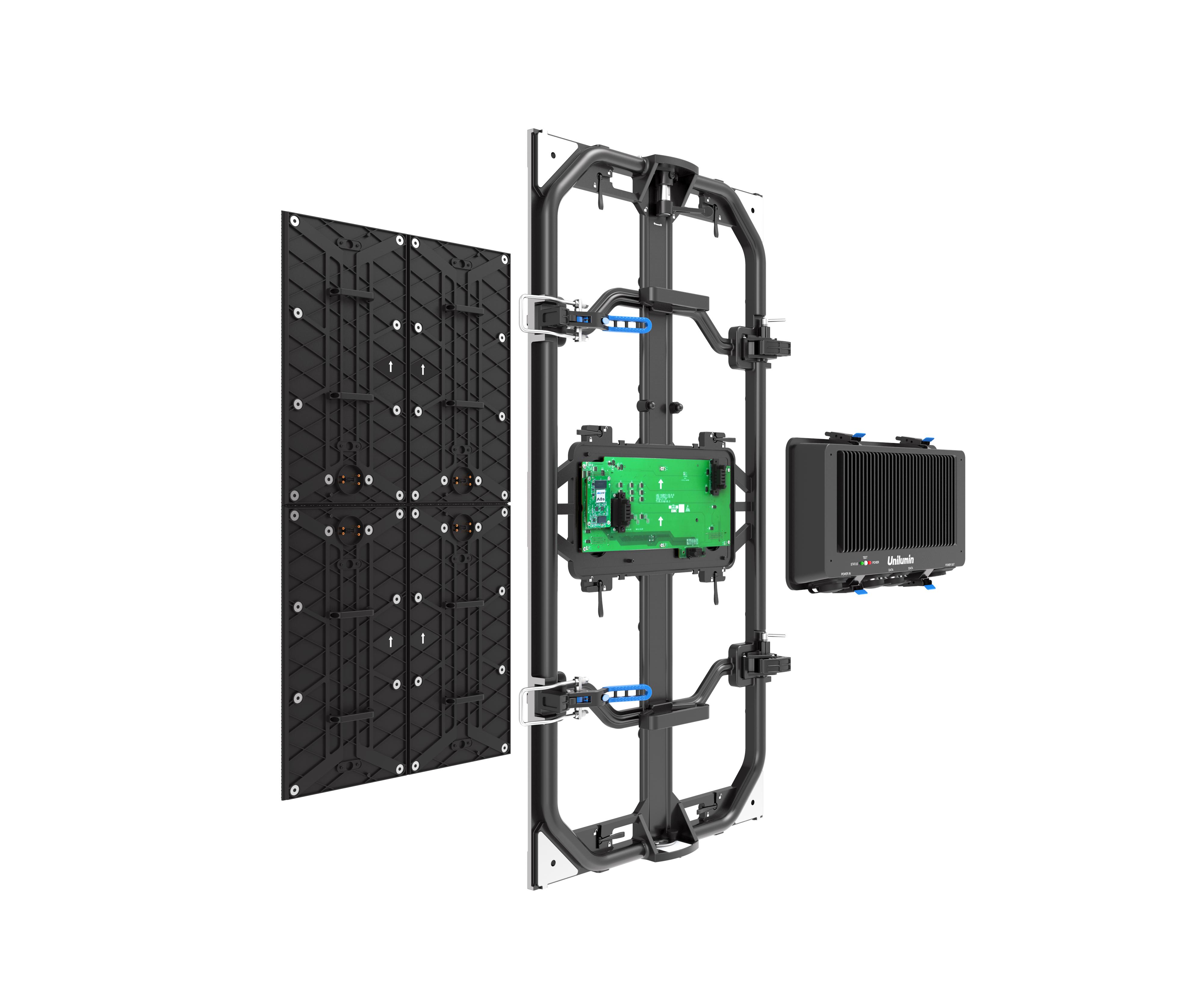 UTILE 3 rental led virtual production module 1