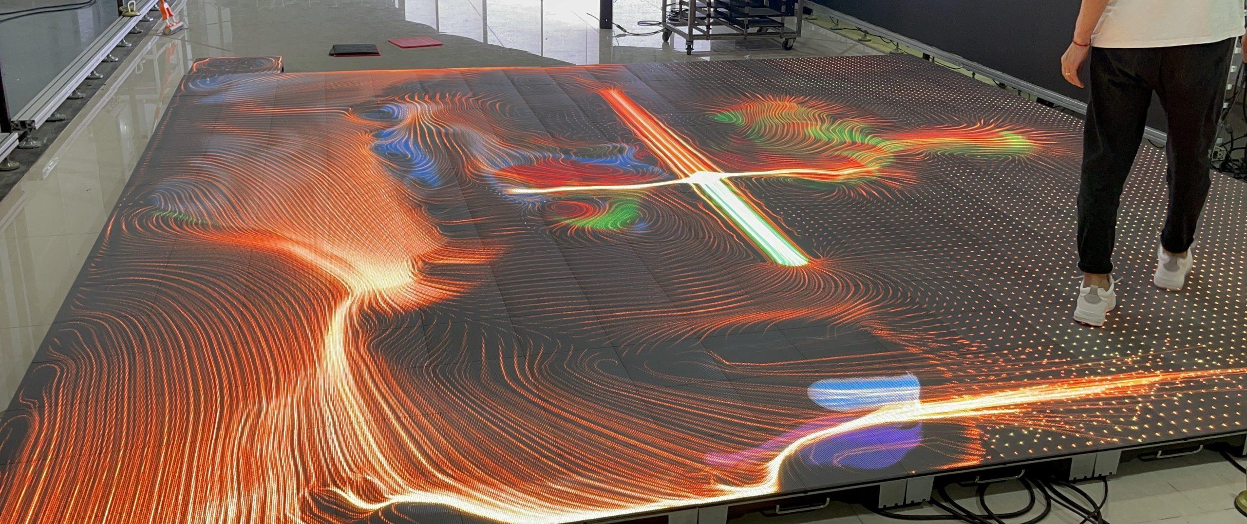led floor intereactive findsbury