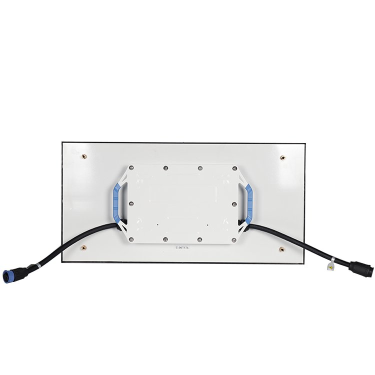 1x2ft LED panel back side view u series outdoor