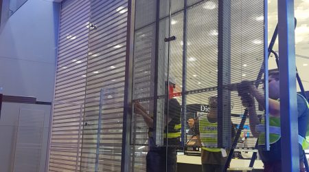 led display store installation