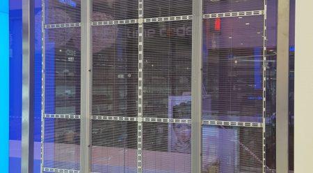 Wall Led display screen installation