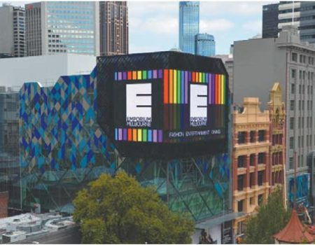 Ci-LED-5.1 module led giant on building facade