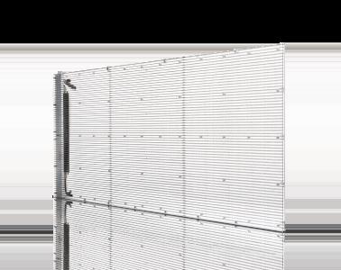 Crystal Screen Serie standard transparent LED
