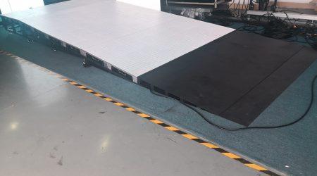 Interactive LED floor for Virgin Galactic's Astro Walk installation plateform