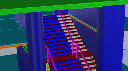 Stair Printemps 2
