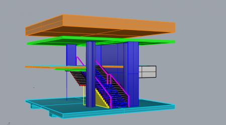 Stair Printemps 3