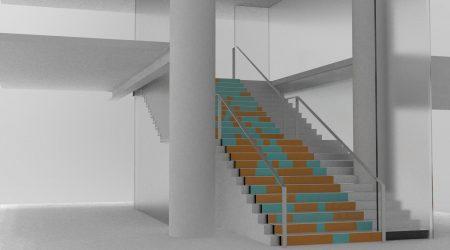 Stair Printemps