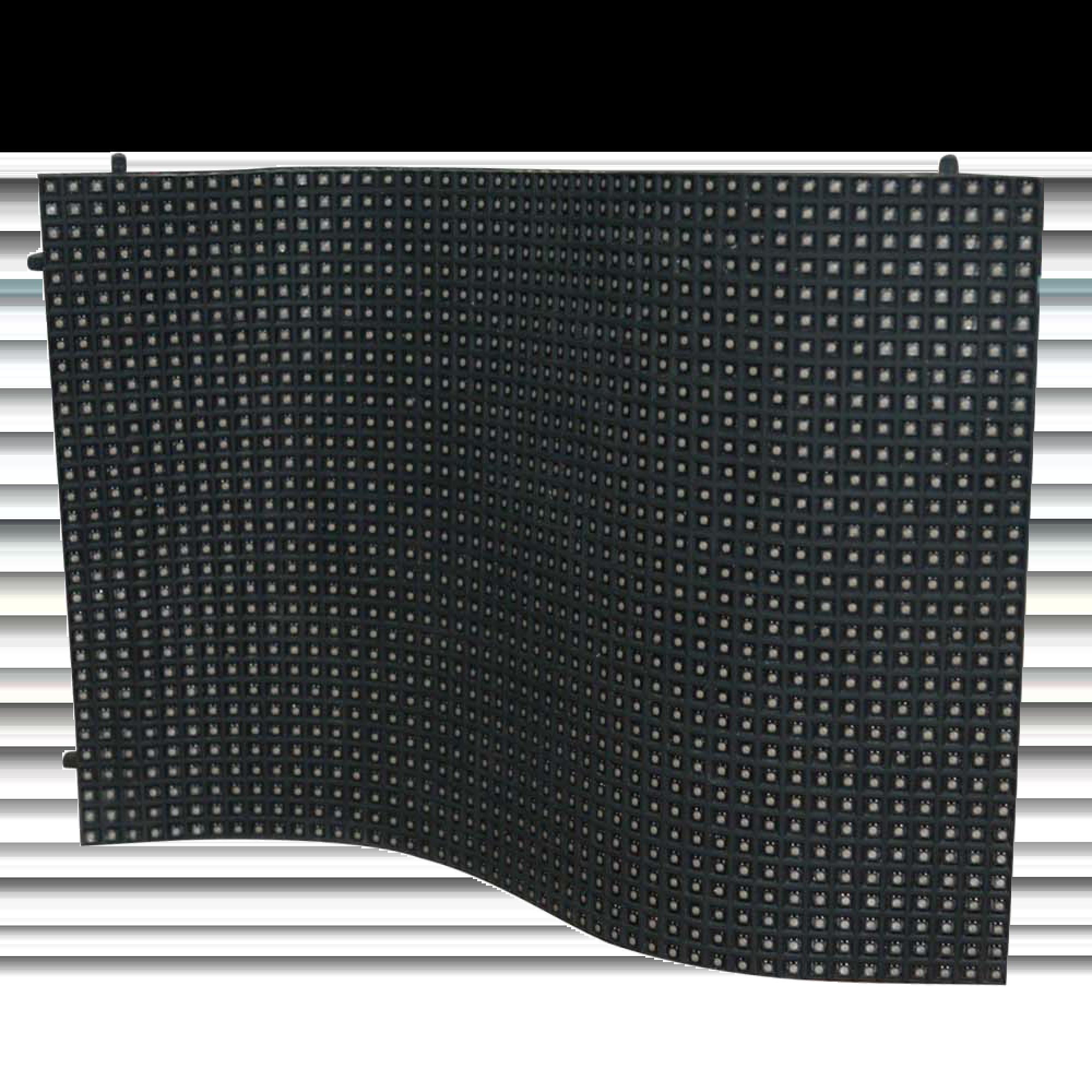 flexible rectangular LED ribbon display with fine pixel quality