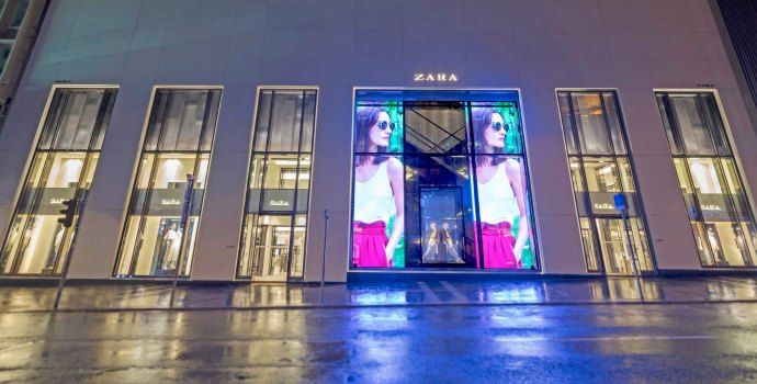 zara transparent LED