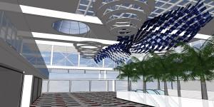 Вид сбоку слева Гранада второе предложение 3D